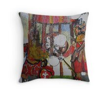 City Landscape.  Gog and Magog Throw Pillow
