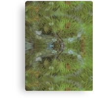 Greenish - Art20 Canvas Print