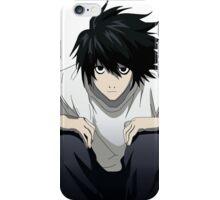 L - Death Note iPhone Case/Skin