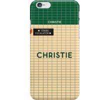 CHRISTIE Subway Station iPhone Case/Skin
