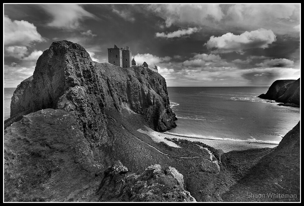 Dunnottar Castle a different look by Shaun Whiteman