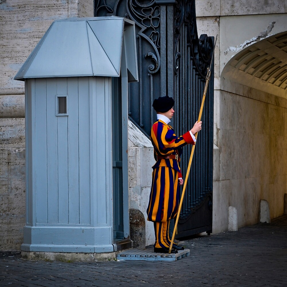 VATICAN SWISS GUARD by Thomas Barker-Detwiler
