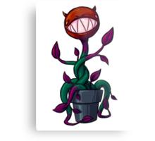 Villainous Vegetation Series - Devilweed Metal Print