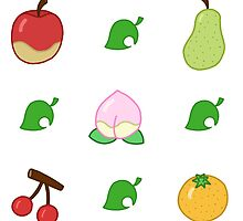 Animal Crossing Fruit by shroomsoft