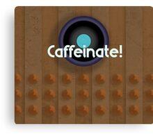 Dalek needs coffee! Canvas Print
