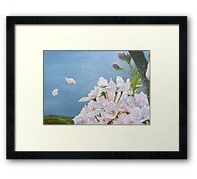 Delicate Sprinkles of Delight Framed Print