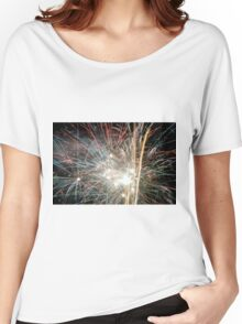 Night light sparkles a colourful delight Women's Relaxed Fit T-Shirt