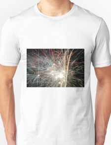 Night light sparkles a colourful delight Unisex T-Shirt