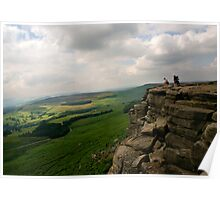 Stanage Edge Poster