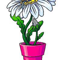 Villainous Vegetation Series - Despicable Daisy by RaideoDesigns
