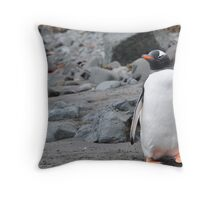 Penguin Friendship Throw Pillow