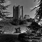 Conisbrough Castle by frank Yule