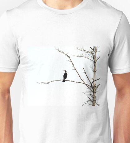 Double Crested Cormorant Unisex T-Shirt