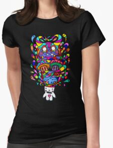 Demons in my Head Womens Fitted T-Shirt