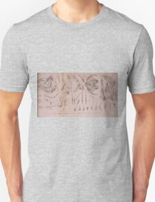The Animal Kingdom by Georges Cuvier, PA Latreille, and Henry McMurtrie 1834  199 - Pisces Fish Unisex T-Shirt