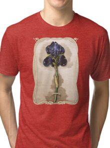 Night Iris Tri-blend T-Shirt