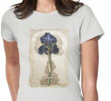 Night Iris Womens Fitted T-Shirt