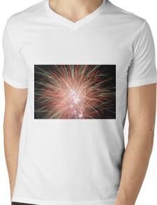 Night light sparkles a colourful delight Mens V-Neck T-Shirt