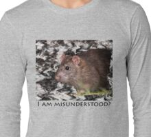 I am misunderstood? Long Sleeve T-Shirt