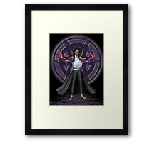 The apprentice .. the young wizard Framed Print
