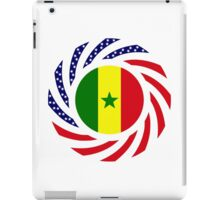 Senegalese American Multinational Patriot Flag Series iPad Case/Skin