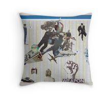 weapon Throw Pillow