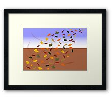 autumn willy willy Framed Print