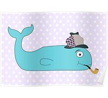 Detective Whale Poster