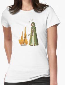 Seek Marshmallows Womens Fitted T-Shirt