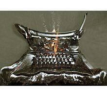 Fireside Companion. Photographic Print