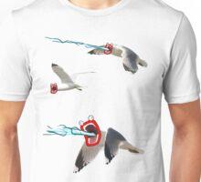 Lazer seagull Unisex T-Shirt