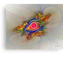 'Light Flame Abstract 024' Canvas Print