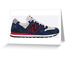 "New Balance 996 ""Connoisseur"" Greeting Card"