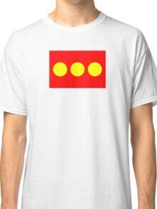 Flag of Freetown Christiania Classic T-Shirt