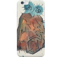 funky face 2 iPhone Case/Skin