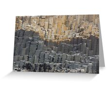 Leaning Pillars Greeting Card