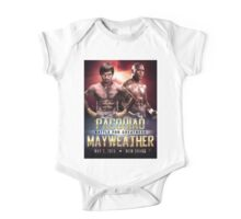 """Pacquiao vs Mayweather """"Battle for Greatness"""" One Piece - Short Sleeve"""