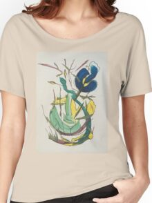 electric flower Women's Relaxed Fit T-Shirt