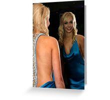 miss Italia nel mondo - 2008 Winner Kiara Greeting Card