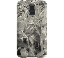 Greenery in black and white Samsung Galaxy Case/Skin