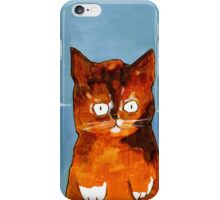 Orange Paws and Booze for Miles iPhone Case/Skin