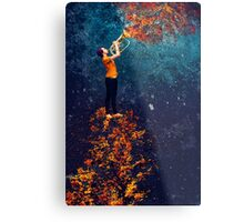 The Royal Baritonist of the Forest King Metal Print
