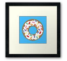 DONUT - VECTOR GRAPHIC Framed Print