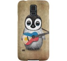 Baby Penguin Playing Filipino Flag Guitar Samsung Galaxy Case/Skin