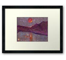 Impressionist sunrise Framed Print