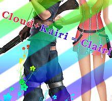 Cloud♥Kairi by midnitemimosa