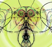 String Bee Sticker