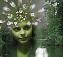 Queen of the Forest River by Antanas
