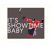 It's Showtime Baby; Patrick Kane  Art Print