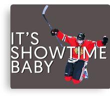It's Showtime Baby; Patrick Kane  Canvas Print